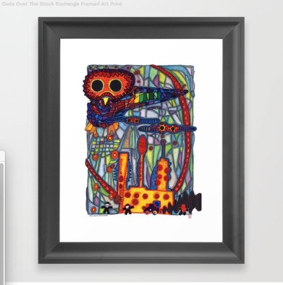 Owls Over The Stock Exchange