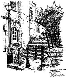 Steps near Lower Church Lane