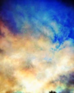 moody cloud shapes.