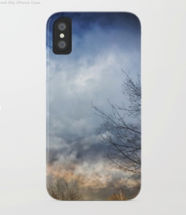 weathered sky iphone case