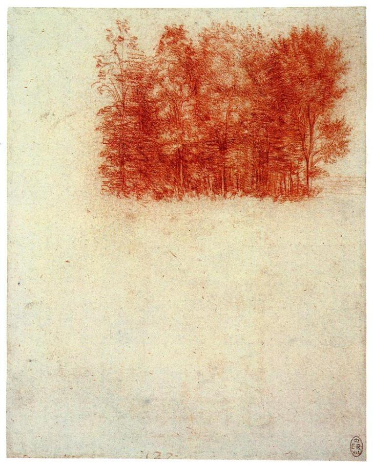 Red chalk | 19.1 x 15.3 cm (sheet of paper
